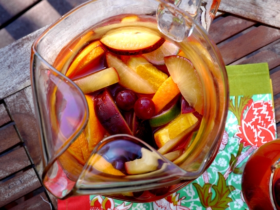 Cherry Orange Sangria the best youll ever have