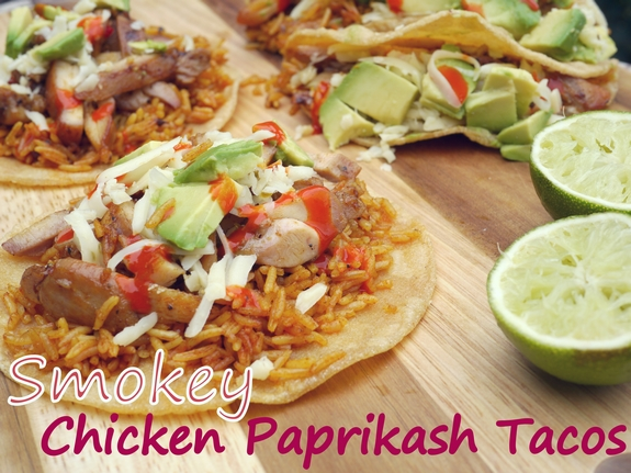 Smokey Chicken Paprikash Tacos I could eat them for every meal