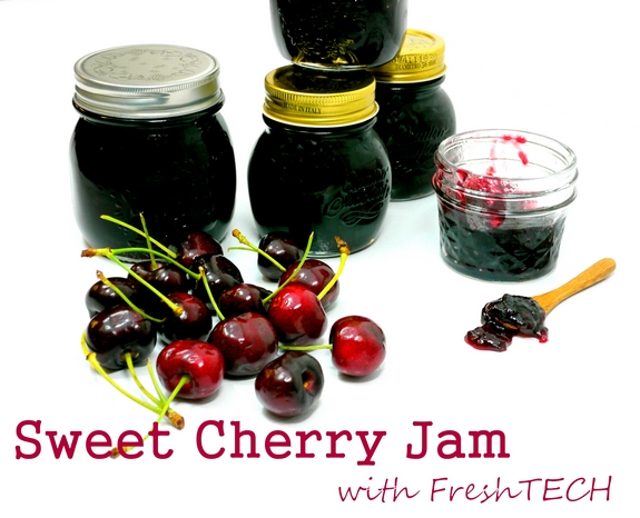 Sweet Cherry Jam with FreshTECH 1