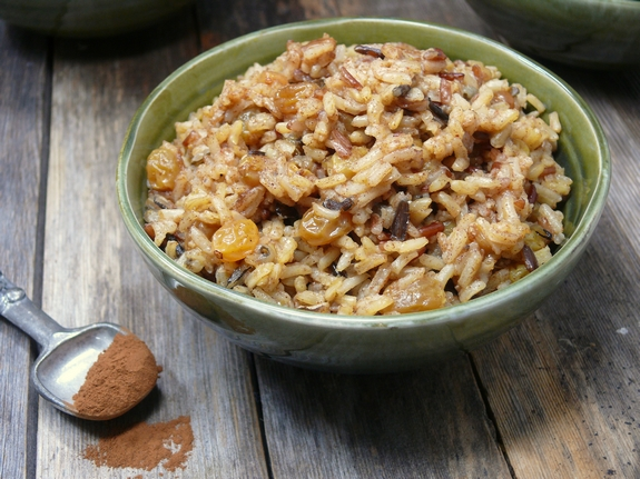 Cinnamon Spiced Rice using Rice Select