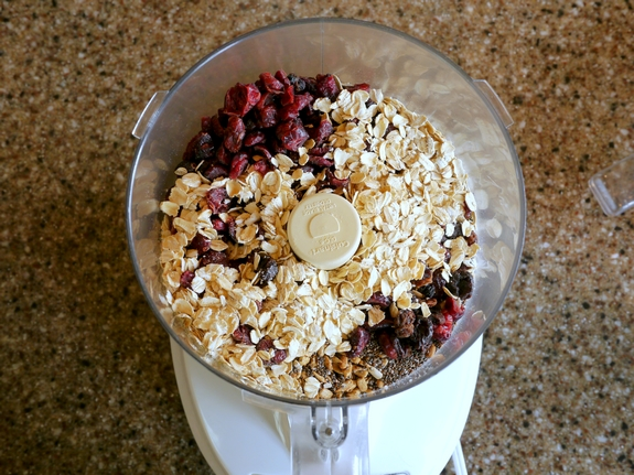 Fruit and Seed Bars food processor