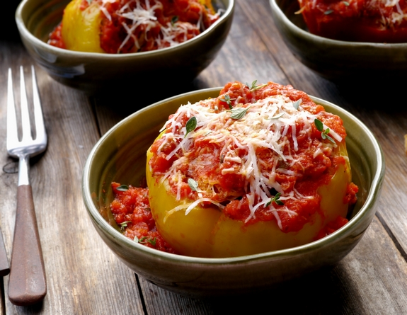 Stuffed Bell Pepper oni