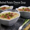 Leftover Mashed Potato Cheese Soup