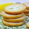 Corn Lime Cookies