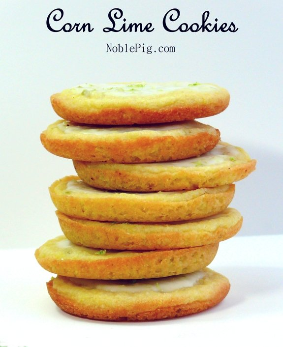 Amazing Corn Lime Cookies