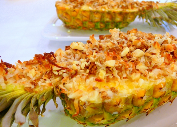 Gratineed Pineapple