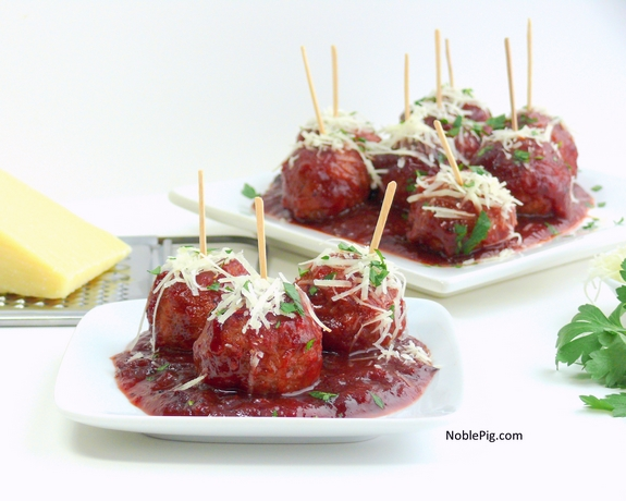 Kicked Up Cocktail Meatballs a twist on the classic