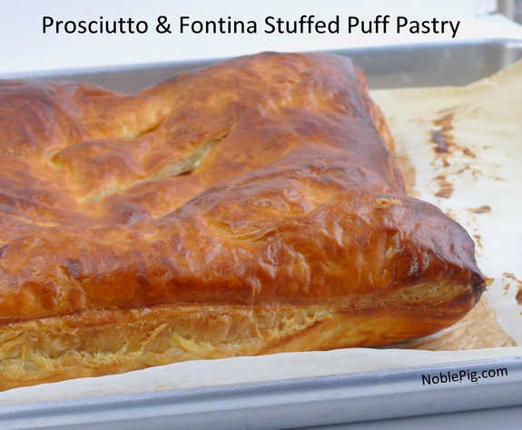 Prosciutto And Fontina Stuffed Puff Pastry Video
