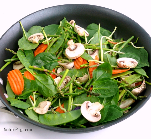 Healthy Breakfast Stir Frys low in calories and easy to make