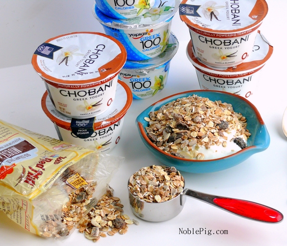 Healthy Eating Tips Chobani Bobs Red Mill Yoplait