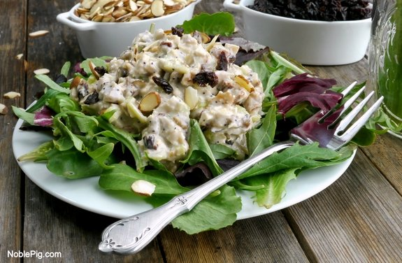 Noble Pig  Delicious Reduced Calorie Chicken Salad less than 300 calories per serving