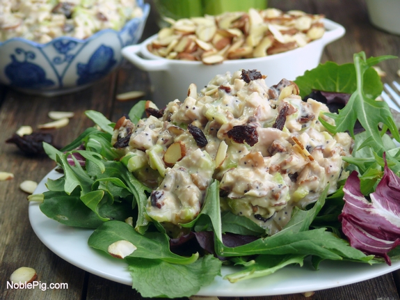 Noble Pig  Delicious Reduced Calorie Chicken Salad