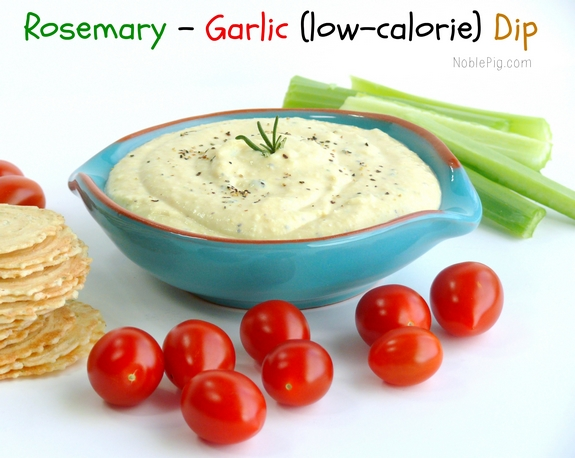 Noble Pigs Rosemary Garlic Low Calorie Dip
