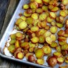 Cheesy-Crushed Rosemary Roasted Red Potato Coins