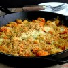 Butternut Squash and Sweet Potato Gratin