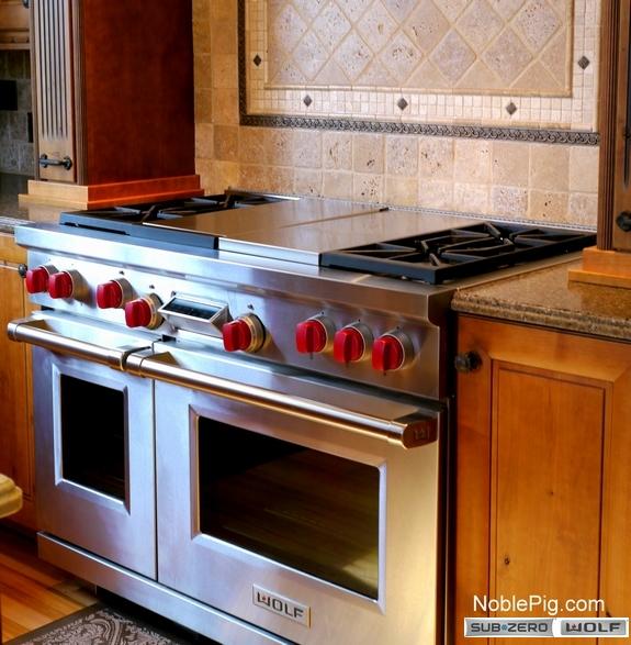 2 Noble Pig Sub Zero Wolf Grilling Range Oven
