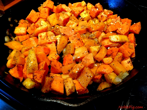 Noble Pig Butternut Squash and Sweet Potato Gratin squash