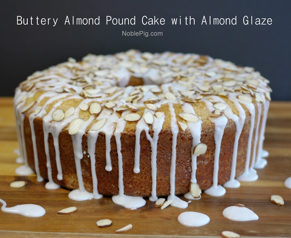 Pound Cake Recipe In Pressure Cooker: Buttery Almond Pound Cake With Almond Glaze