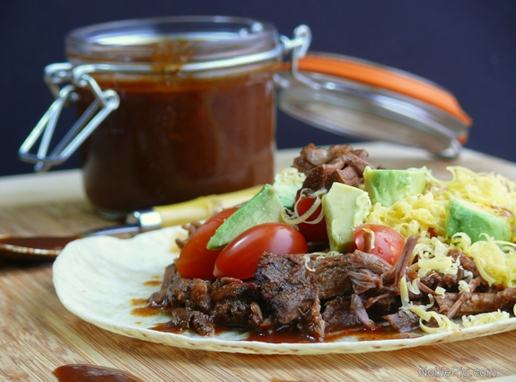 Slow Cooker Beef Recipes - Chile Colorado Slow Cooked Beef