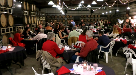 Noble Pig Valentines Dinner at Eola Hills Winery