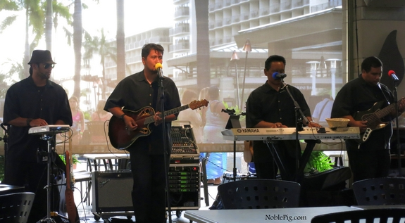 Noble Pig Band Embassy Suites Waikiki