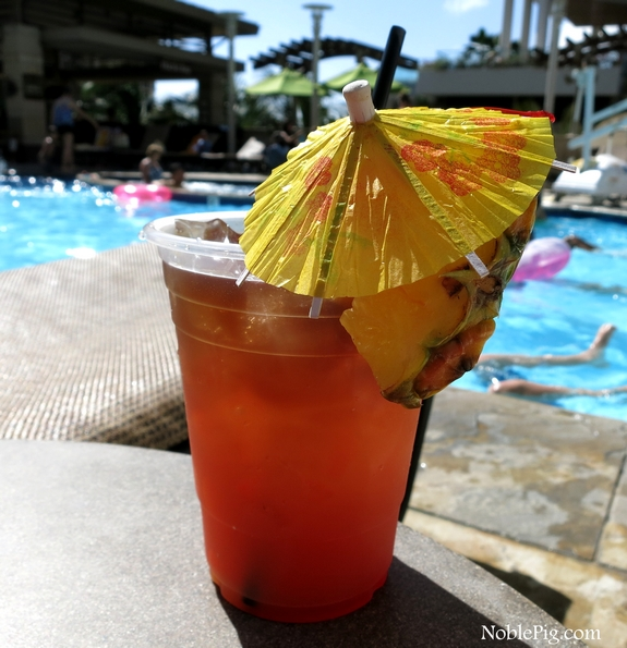 Tropical Itch drink from Embassy Suites Waikiki in Hawaii.