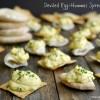 Deviled Egg-Hummus Spread