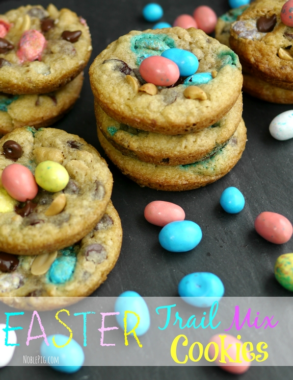 Noble Pig Easter Trail Mix Cookies