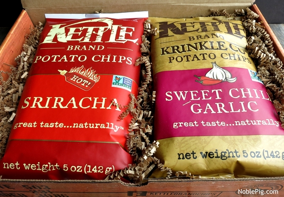 Noble pig Kettle Chip new flavors
