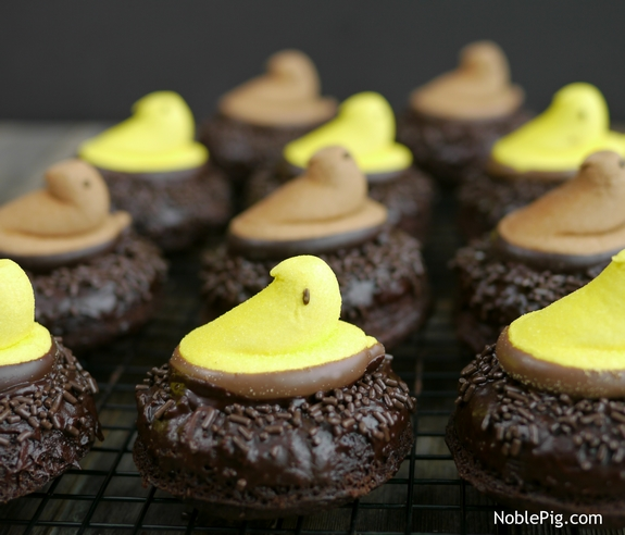Peeps Chocolate Donut Nests from Noble Pig 1