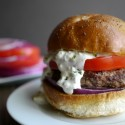 The-Juciest-Mediterranean-Style-Burgers-with-Creamy-Feta-Curry-Dressing-2-Noble-Pig1