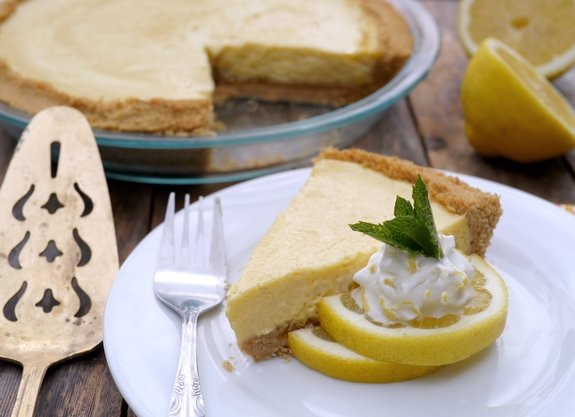 Creamy Lemon Pie Overload from Noble Pig