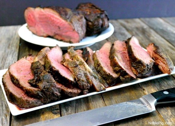 Grilled Butterflied Leg of Lamb with Marinade | Noble Pig