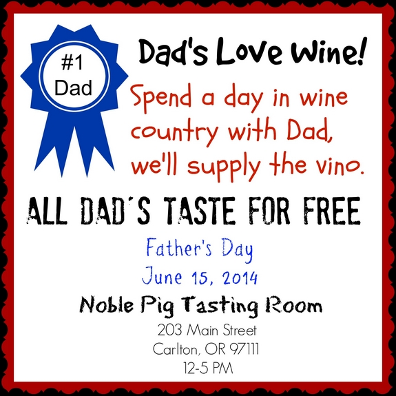 Noble Pig Fathers Day Graphic