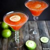 Summertime Blood Orange Martinis