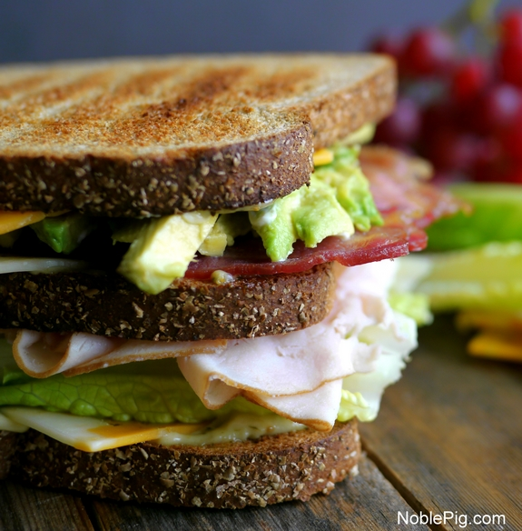 Ultimate Manly Picnic Sandwich with Sargento Cheese and Noble Pig 1