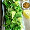 5-Minute Spicy Lemon Broccoli