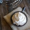 Peanut Butter Whipped Cream