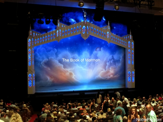 Book of Mormon Portland Noble Pig