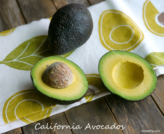 Cheese Filled Grilled Avocados from Noble Pig California Avocados