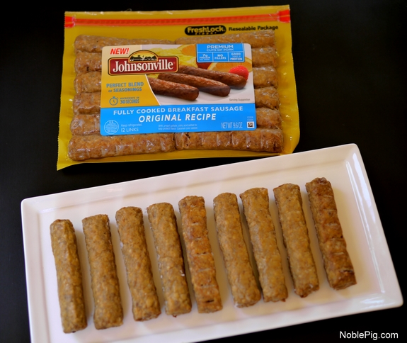 Sausage and Tortilla Wraps from Noble Pig Johnsonville