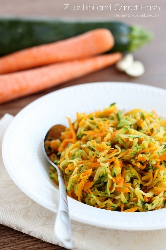 Zucchini and Carrot Hash1