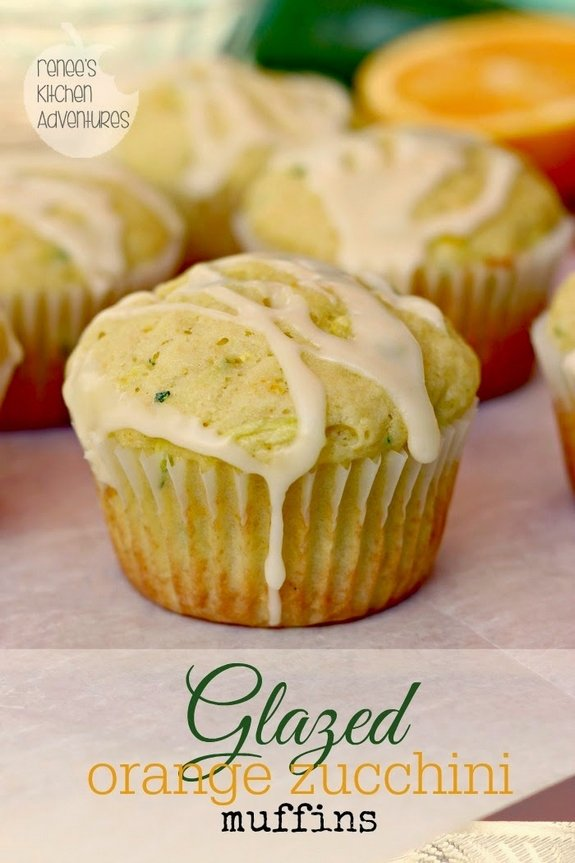 glazed orange zucchini muffins long text 2