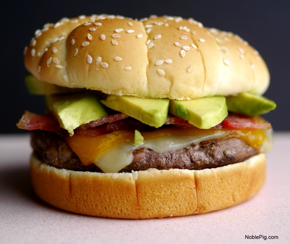 Bacon Avocado Cheeseburger 10