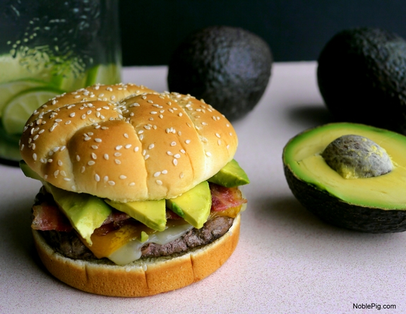 Bacon Avocado Cheeseburger 9