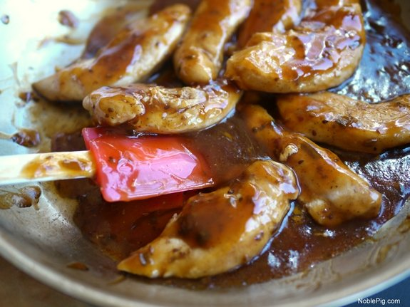 Chicken with Toasted Sesame Skillet Sauce 4