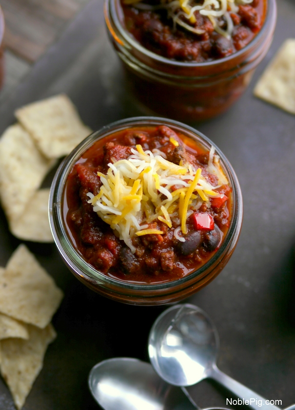 Slow Cooker Red Chili from Noble Pig 3