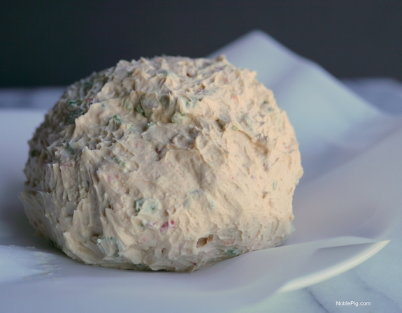 Asian Cheese Ball Noble Pig Gourmet Garden 1