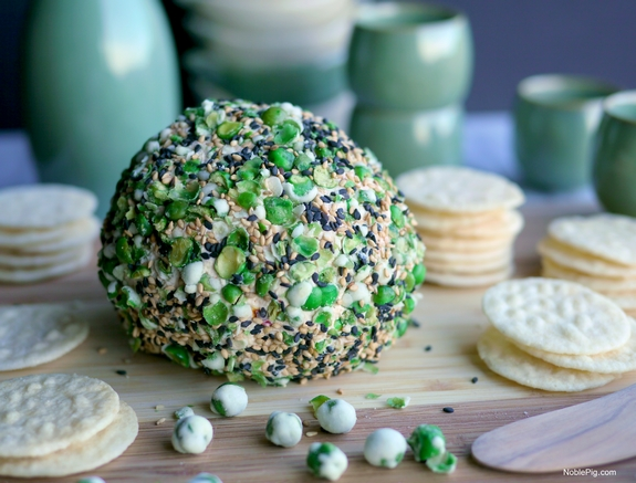 Asian Cheese Ball Noble Pig Gourmet Garden 4