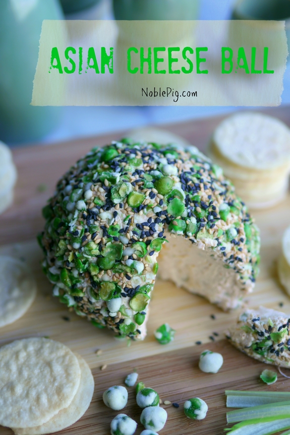 Asian Cheese Ball Noble Pig